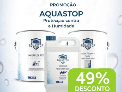 CAMPANHA AQUASTOP – 49% DE DESCONTO